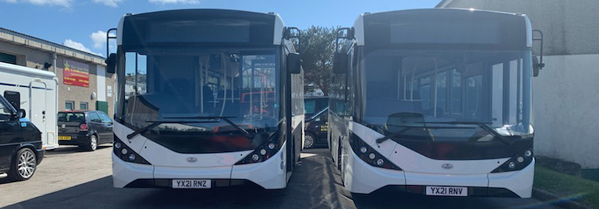 St Ives Cornwall Bus Company