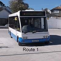 St Ives Buses - Route 1